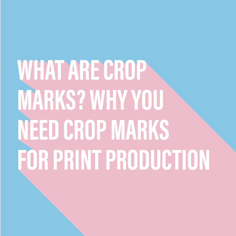 What are crop marks?