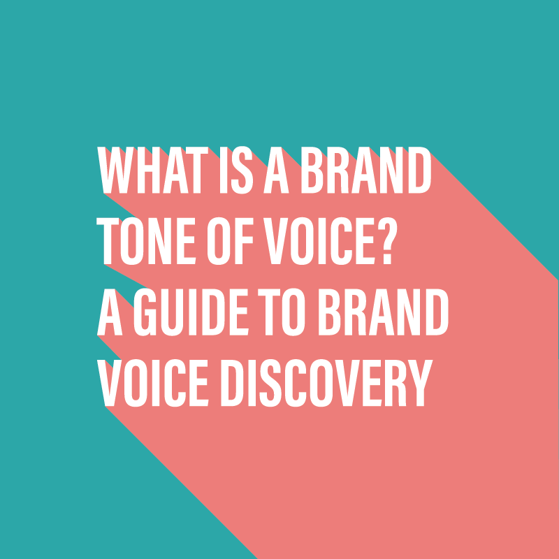 What is a brand tone of voice?