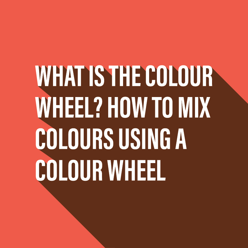 What is the colour wheel?