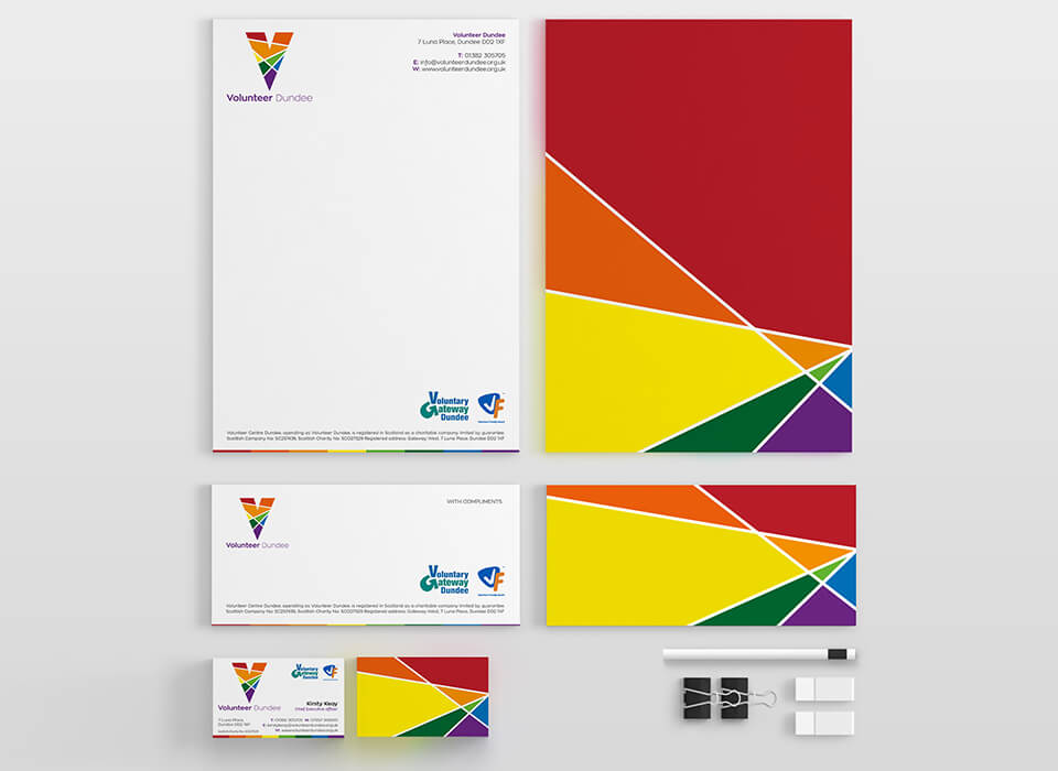 Volunteer Dundee Stationery