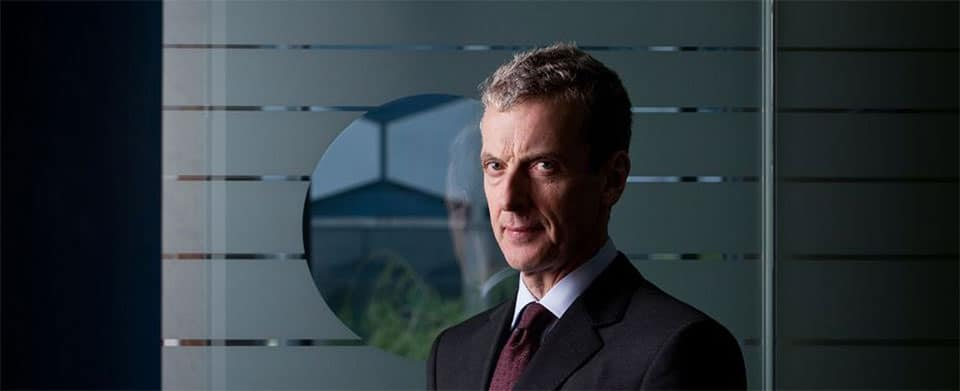Peter Capaldi as the very sweary Malcolm Tucker in the BBC series The Thick of It